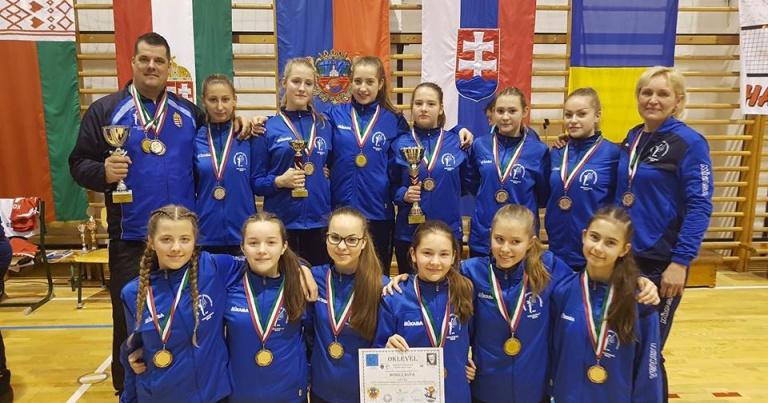 Rangos nemzetközi tornán nyert bronzérmet az U15-ös csapatunk Nyíregyházán